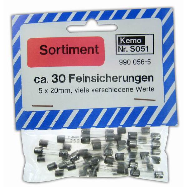 Kemo Sicherungen ca. 30 Stück S051