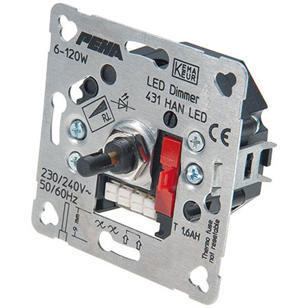 Peha 431 HAN UP-Phasenanschnitt-LED-Drehdimmer 6-60 W