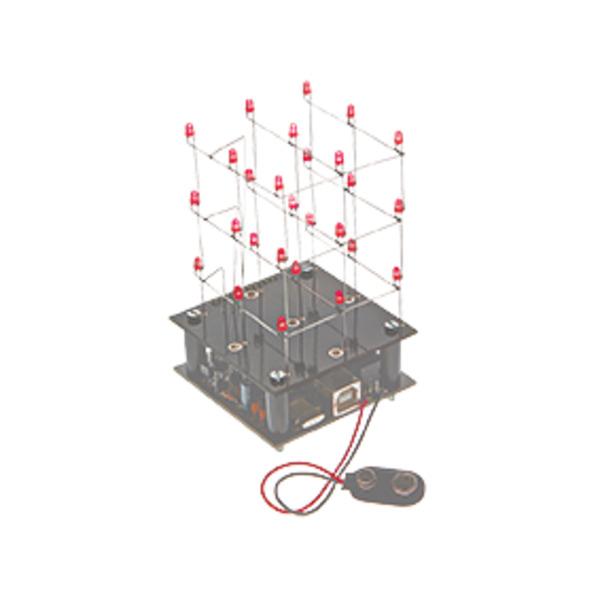 Velleman Bausatz 3D-LED-Cube 3x3x3 MK193