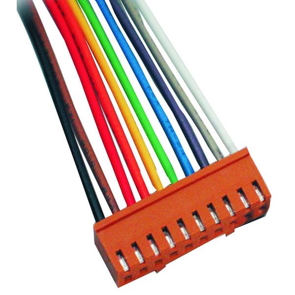 BKL Electronic Platinen-Steckverbinder Oberteil, 2 polig mit Kabel, 25 cm