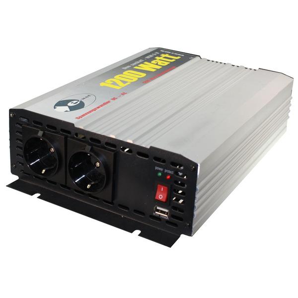 heicko Wechselrichter HighPower HPL1200-D-12 12V, 1200 VA