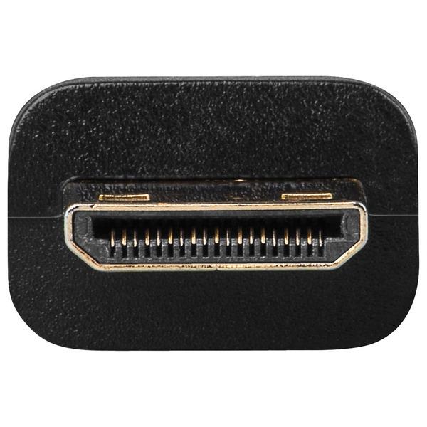 goobay HDMI-Adapter HDMI A-Buchse auf HDMI C(Mini)-Stecker