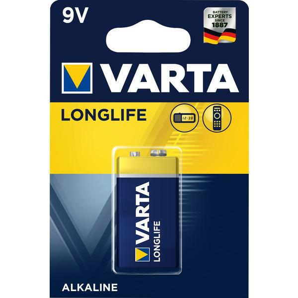 VARTA LONGLIFE 9V Blister 1