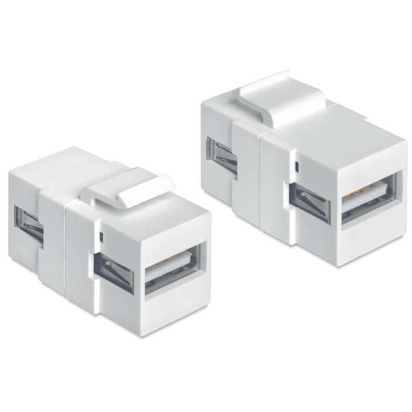 Delock Keystone USB 2.0 A-Buchse > USB 2.0 A-Buchse