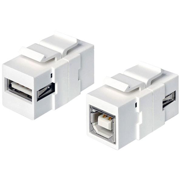 Delock Keystone USB 2.0 A-Buchse > USB 2.0 B-Buchse