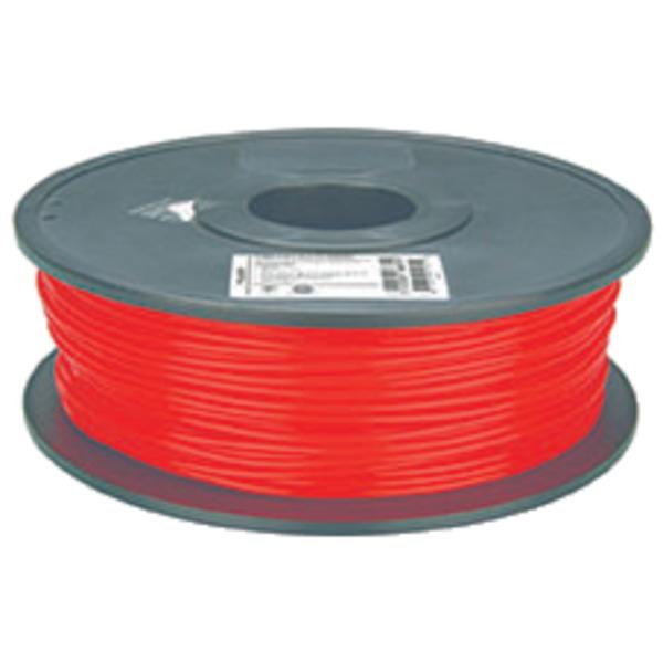 Velleman PLA Filament, rot, 3 mm, 750 g, PLA3R1