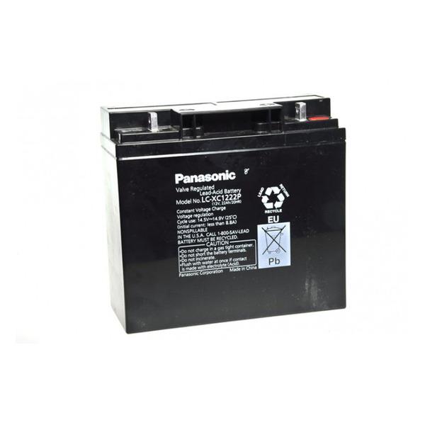 Panasonic Blei-AGM-Akku LC-XC1222P, 12 V, 22 Ah