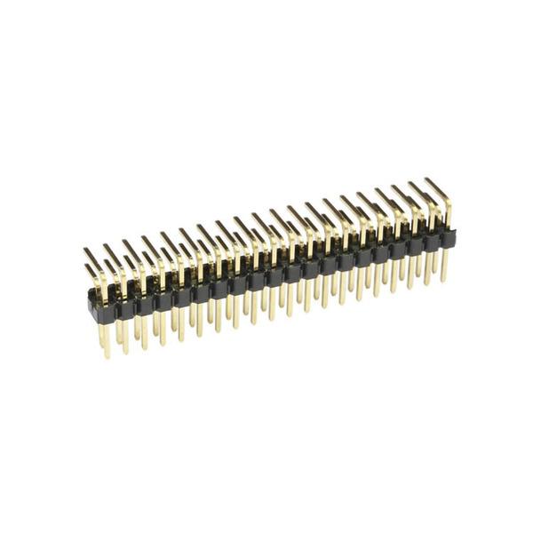 econ connect Stiftleiste SL25WD32GA, 2x 16-polig, gewinkelt, RM 2,54 mm