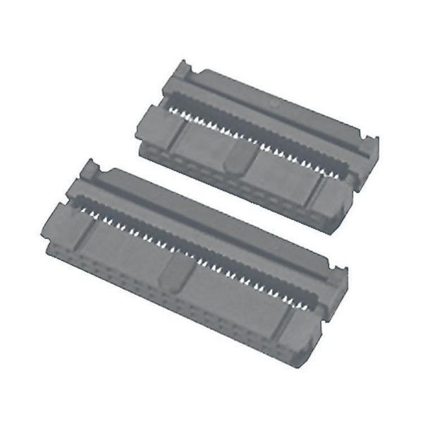 econ connect Pfostenverbinder PV40, 40-polig, 2-reihig, inkl. Zugentlastung