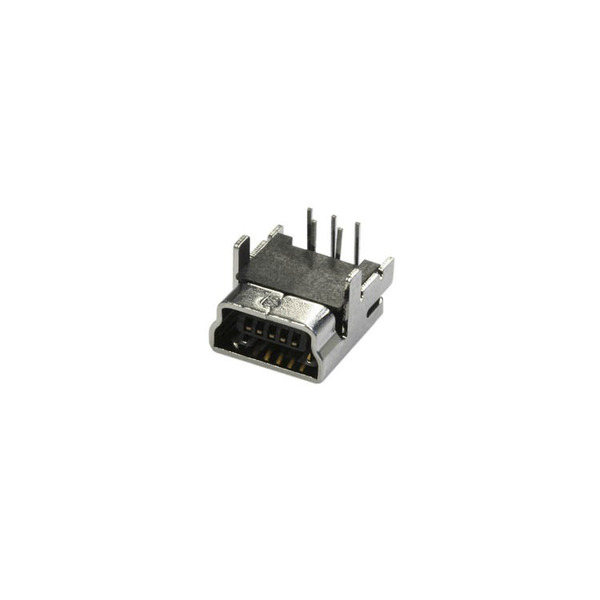 Mini USB-Buchse Typ B, 5-polig, Printmontage