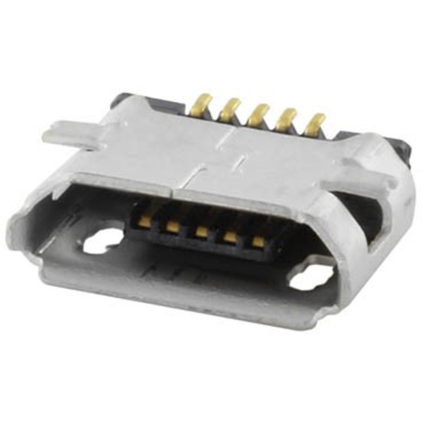 econ connect Micro USB-Buchse Typ B MICUB5BBS, 5-polig, SMT