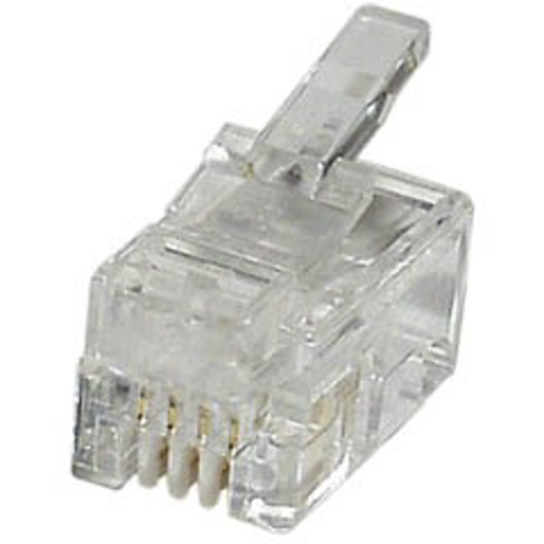 econ connect Modular-Stecker MPL44, 4P4C für Flachkabel