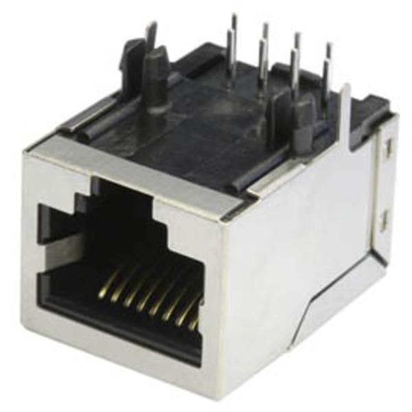 econ connect Modular-Einbaubuchse MEB8/8PG, 8P8C, geschirmt