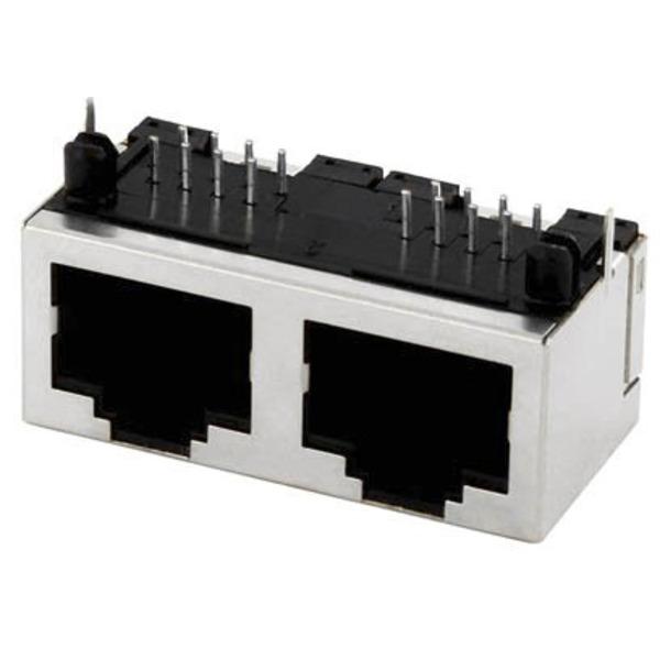 econ connect Modular-Einbaubuchse Multiport MPU288A, 8P8C, 2x RJ45, geschirmt