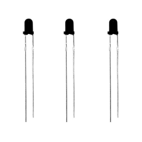 Everlight Fototransistor ELPT204-6C, klar, 3 mm, 0,7 mA