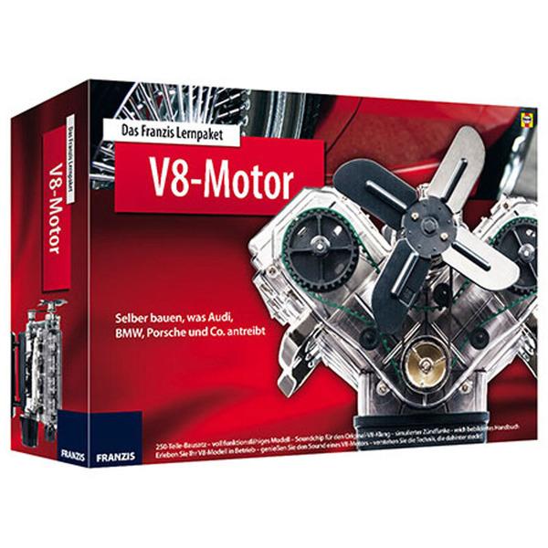 FRANZIS Lernpaket V8-Motor