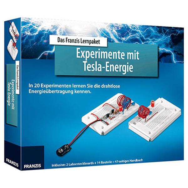 FRANZIS Lernpaket Experimente mit Tesla-Energie