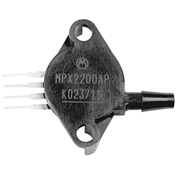 Freescale Semiconductor Drucksensor MPX5050DP, 50 kPa ±2,5 %, C867C