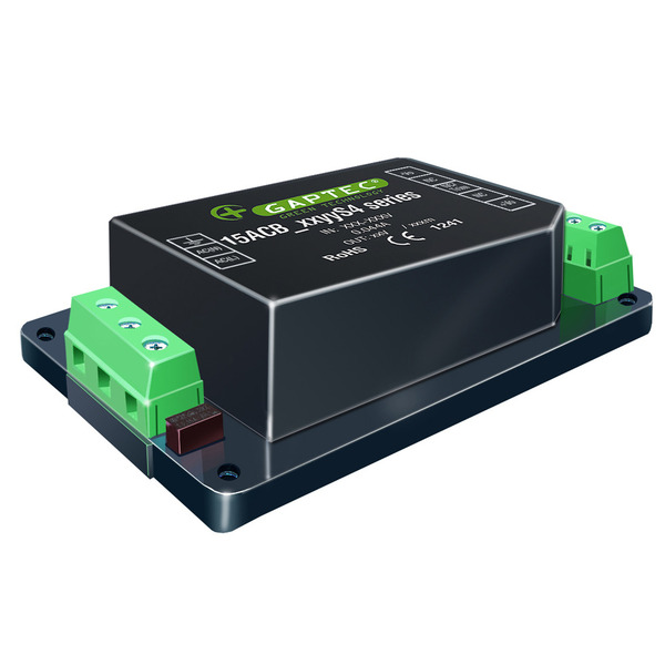 GAPTEC AC-DC-Wandler 15ACB_03S3CM, 3,3 V / 3000 mA