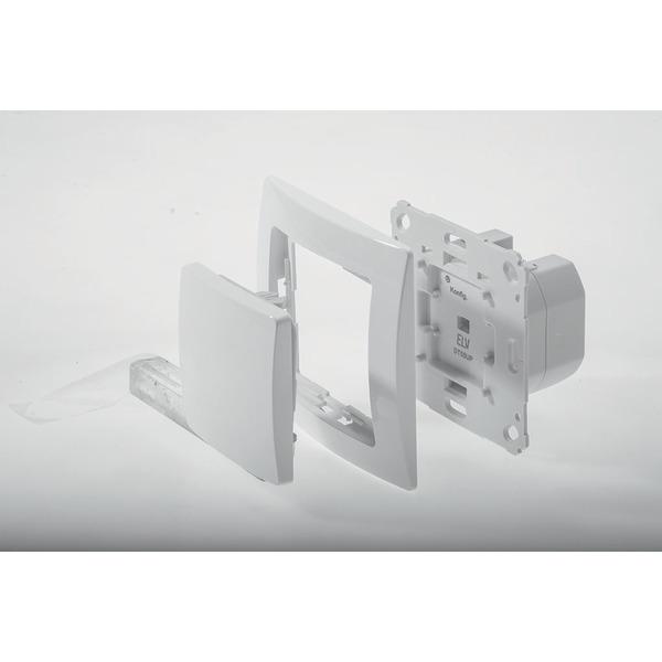 ELV DT55UP UP-Dimmaktor für Markenschalterprogramme, inkl., KOPP Rahmen und Wippe