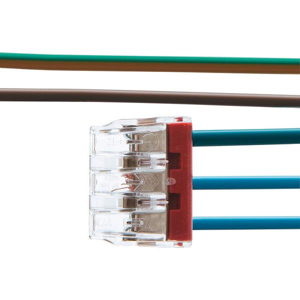Wago 10er Pack Compact 773-173 Verbindungsklemmen, 3pol.