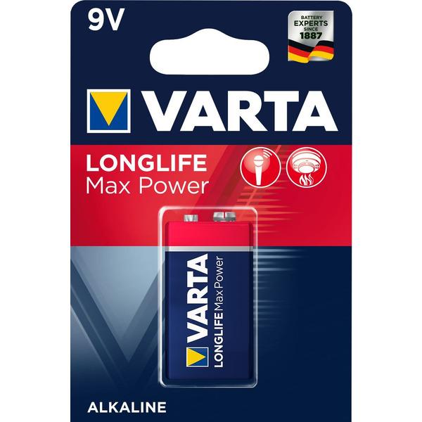 VARTA LONGLIFE Max Power 9V Blister 1