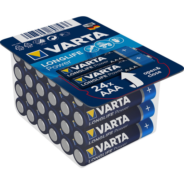 VARTA LONGLIFE Power AAA Big Box 24