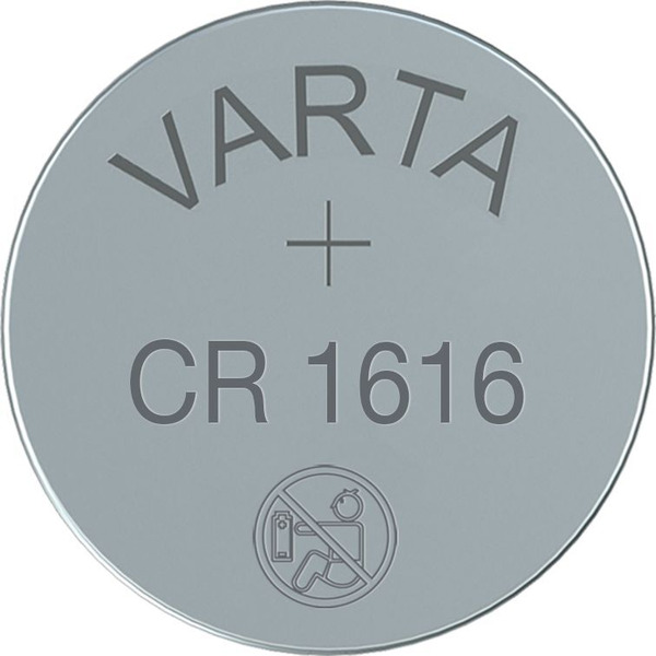 VARTA ELECTRONICS CR1616 Blister 1