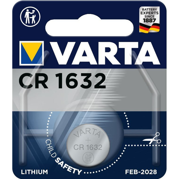 VARTA ELECTRONICS CR1632 Blister 1