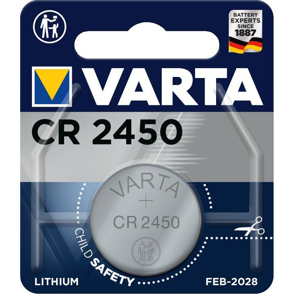 VARTA ELECTRONICS CR2450 Blister 1