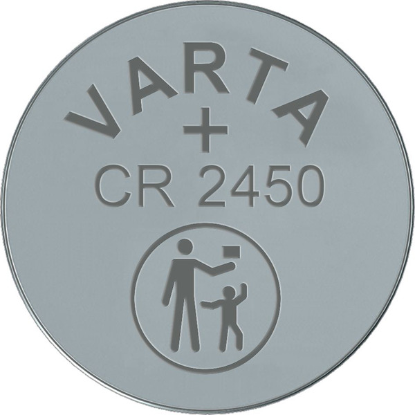 VARTA ELECTRONICS CR2450 Blister 1