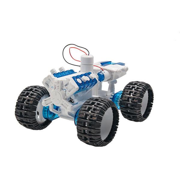 Modellauto-Bausatz mit Salzwasser-Brennstoffzelle