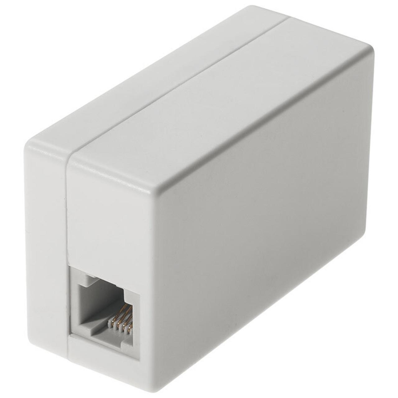 Telefonabhörgerät- zum Schalten zwischen Telefonbuchse und Telefon- mit microSD-Kartenslot