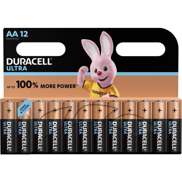 Duracell Ultra Alkaline Batterie LR6 (Mignon/AA), 12er Pack