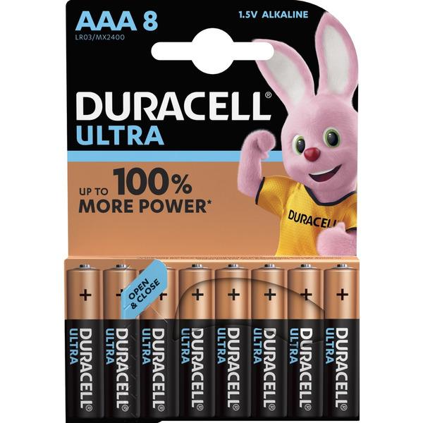 Duracell Ultra Alkaline Batterie LR03 (Micro/AAA), 8er Pack