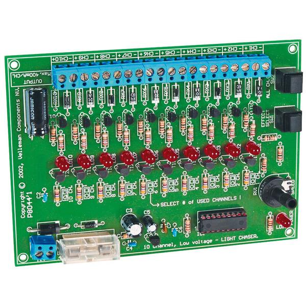 Velleman Bausatz Lauflicht K8044