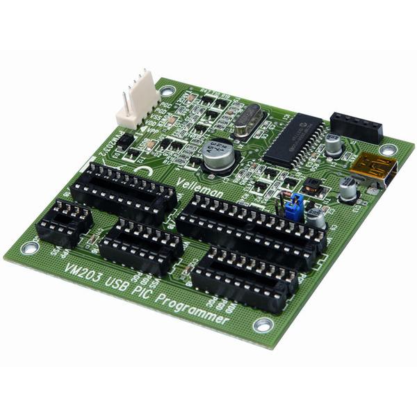Velleman USB PIC-Programmer VM203