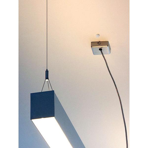 goobay 360°-Mini-Einbau-Bewegungsmelder, weiß