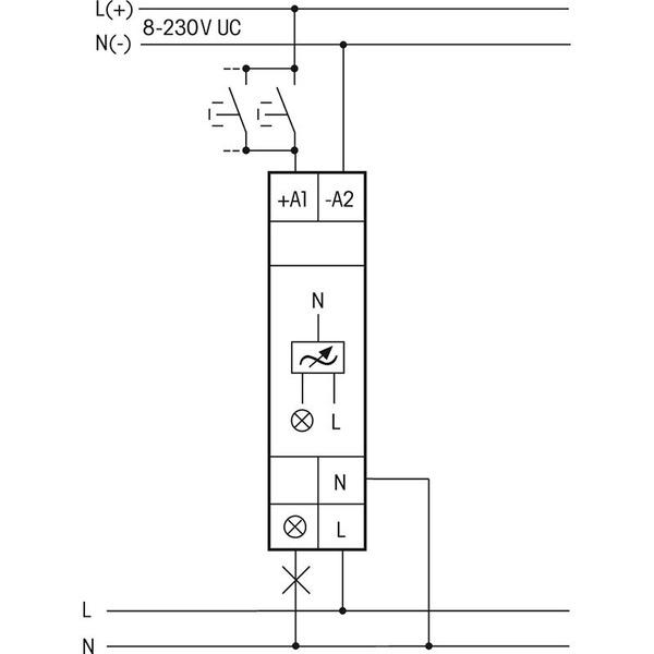 eltako EUD12NPN-UC Universal-Hutschienendimmer