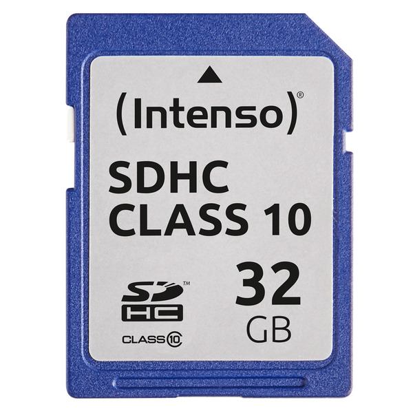 Intenso Speicherkarte SDHC, Class 10, 40 MB/s, 32 GB