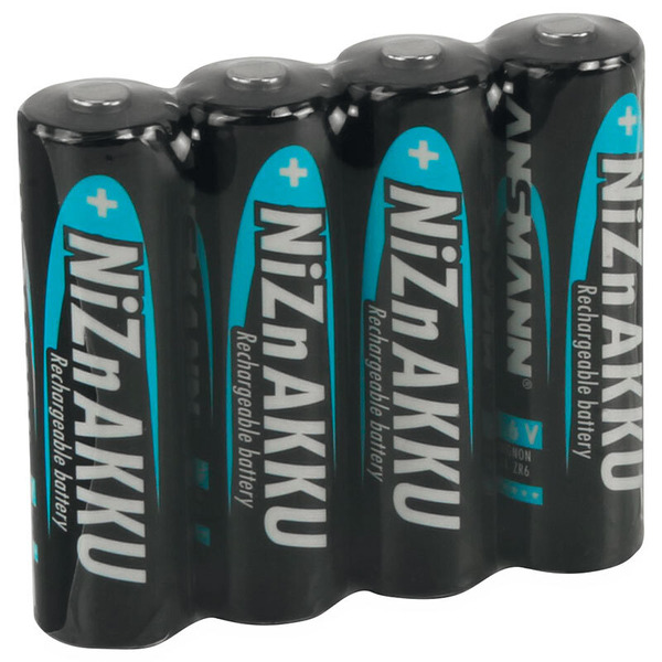Ansmann NiZn-Akku Mignon 1,6 V 1500 mAh, 4er-Pack