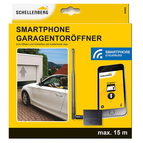 Schellenberg Garagentoröffner per Smartphone-App, Bluetooth