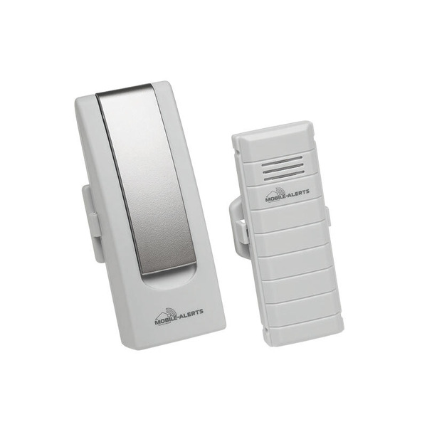 ELV Mobile Alerts Sicherheits-Set 1x Gateway, 1x Temperatursensor, 3x Fensterkontakt, 2x Alarmgeber