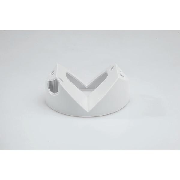 ELV 360°-Bewegungsmelder mit Unterkriechschutz, Erfassungsreichweite einstellbar
