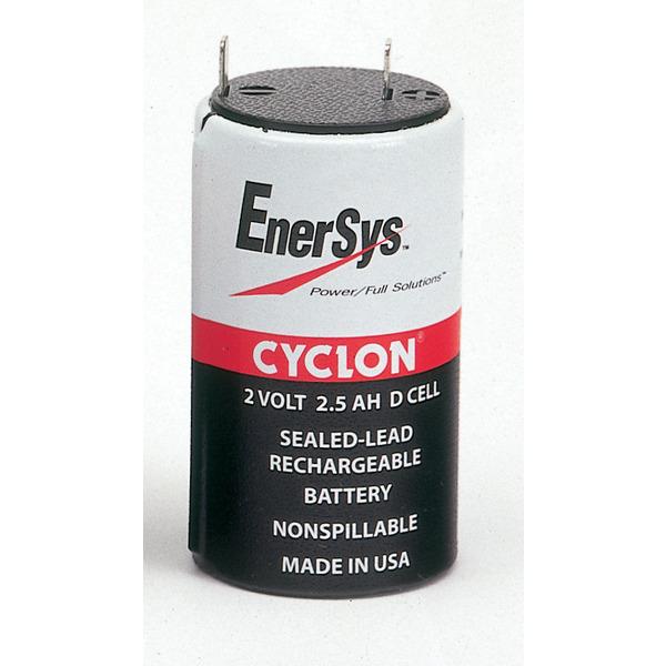 EnerSys Cyclon Rundzellen-Blei-Akku D-2V/ 2,5 Ah