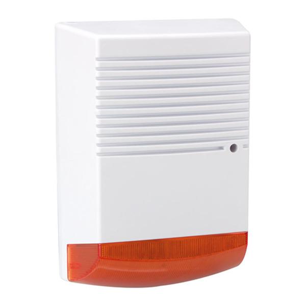 Alarmsirenen-Attrappe mit LED