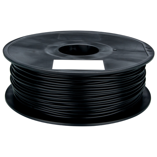 Velleman PLA Filament, schwarz, 1,75 mm, 750 g, PLA175B1