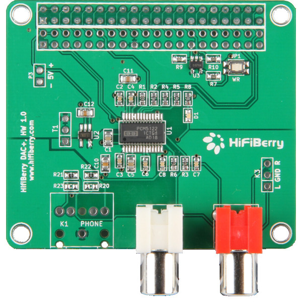 HifiBerry DAC+, Soundmodul für Raspberry Pi