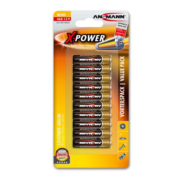 Ansmann Alkaline-XPOWER 1,5 V Mignon AA, 10er Pack