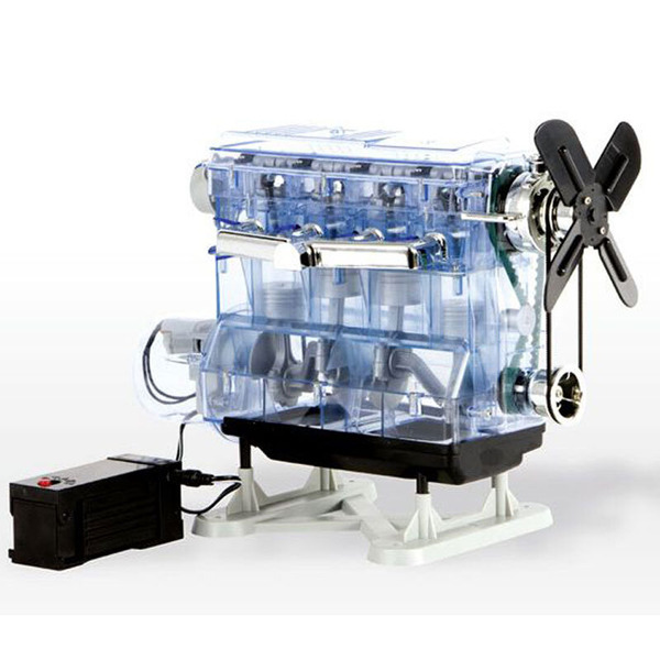 FRANZIS Lernpaket 4-Zylinder-Motor